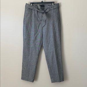 LOFT Grey straight leg slacks
